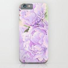 Lavender Peonies iPhone 6 Slim Case