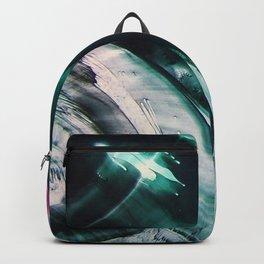 dive - encaustic painting Backpack