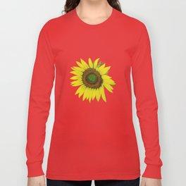 Sunflower painted  Long Sleeve T-shirt