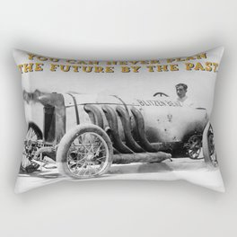 BLITZEN BENZ - You can never plan the future by the past. Rectangular Pillow