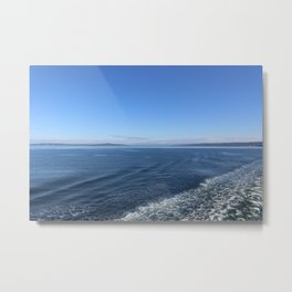 Edmonds-Kingston Ferry, WA Metal Print