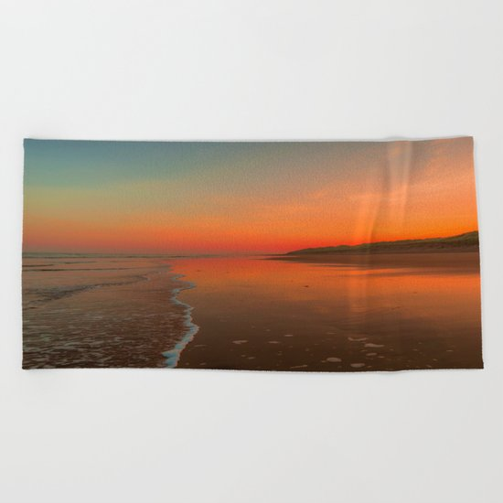 Summer morning Beach Towel