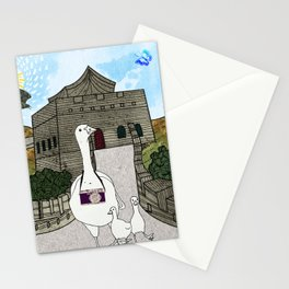 Peking duck1 Stationery Cards
