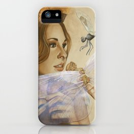 Spreading Her Wings iPhone Case