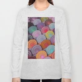 Classical Colourful Pattern Long Sleeve T-shirt