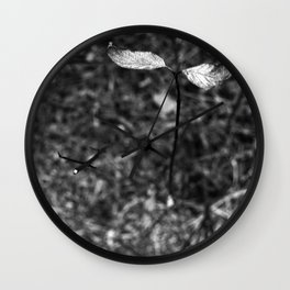 sprouting.. Wall Clock