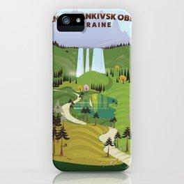 Ivano-Frankivsk Oblast Ukraine iPhone Case