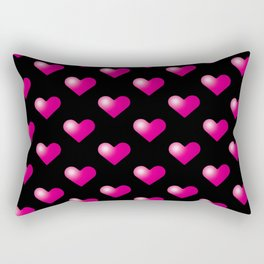 Hearts_E05 Rectangular Pillow