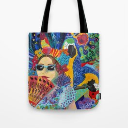 A Guarded Heart Tote Bag