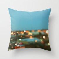 nashville Throw Pillows featuring Nashville #1 by Alicia Bock