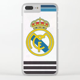 Real Madrid Club Clear iPhone Case