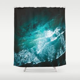 Ocean Explosions Shower Curtain