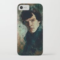 sherlock iPhone & iPod Cases featuring Sherlock by Sirenphotos