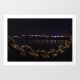 Nightlife Art Print