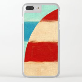 Glad to Sail Clear iPhone Case