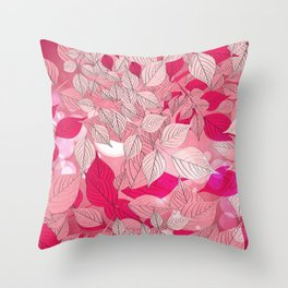 Leaves 6 Throw Pillow
