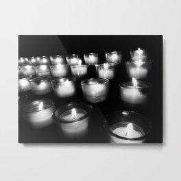Heaven Listens With Light Metal Print
