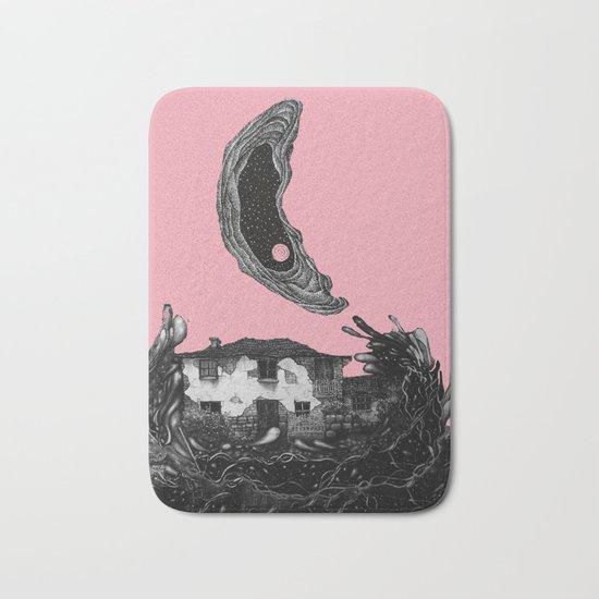 pink moon house Bath Mat