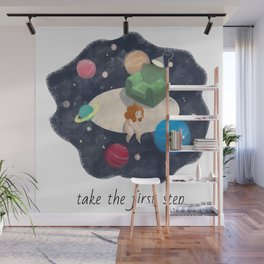 Take the first step Wall Mural