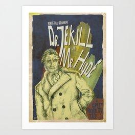 Dr. Jekyll & MrHyde Art Print