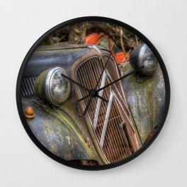 Old Citroen Wall Clock