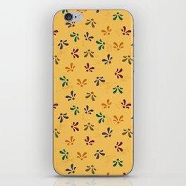 Fleur Scatter-Coordinating iPhone Skin