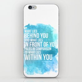 What Lies Within You iPhone Skin