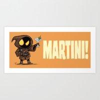 Martini! Art Print