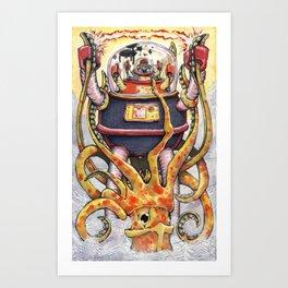 Revenge of the Fisherman's Son Art Print