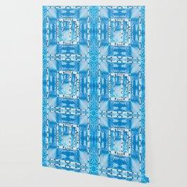 No Fences Pattern Wallpaper