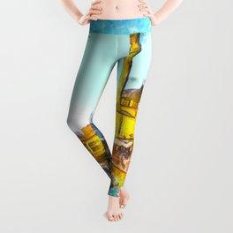 Istanbul Art Leggings