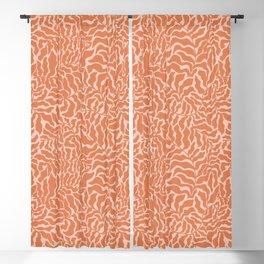 Abundance   Orange & Pink Blackout Curtain