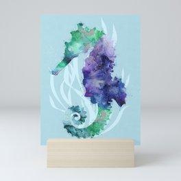 Mystical Seahorse Mini Art Print