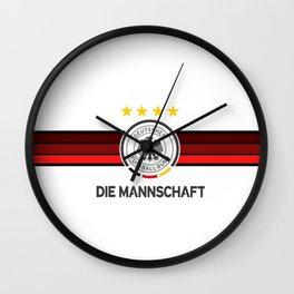 Germany Football team - Die Mannschaft Wall Clock