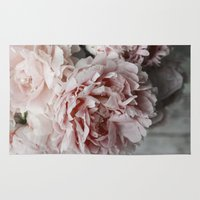peonies Area & Throw Rugs featuring Peonies  by Pure Nature Photos