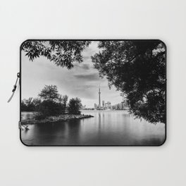 Toronto Black and White Laptop Sleeve