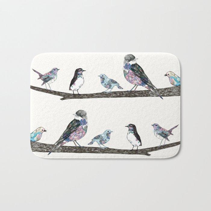 Birds: 2 Bath Mat
