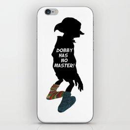 Dobby Has No Master iPhone Skin