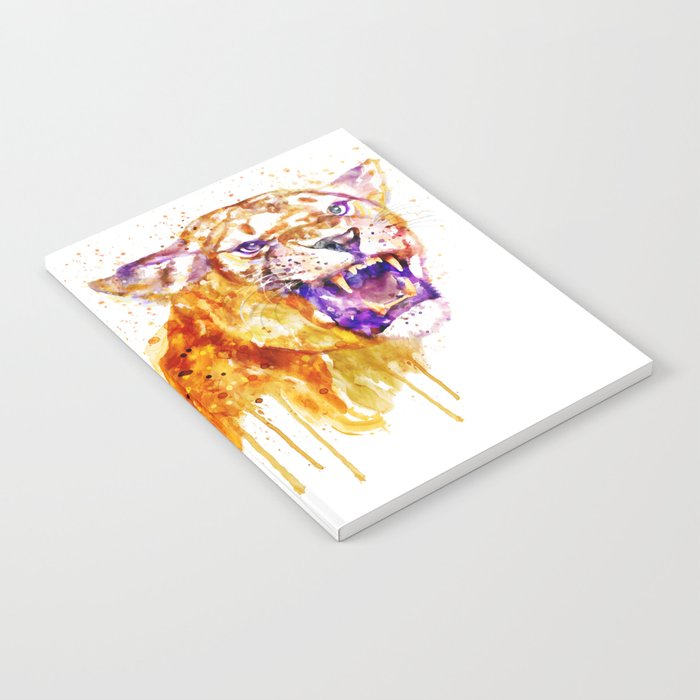 Angry Lioness Notebook