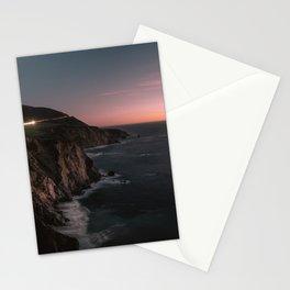Big Sur Sunset Stationery Cards