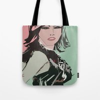 model Tote Bags featuring model by kociara