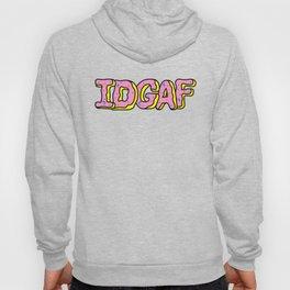 IDGAF Pink Donuts Hoody
