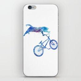 BMX Cat iPhone Skin