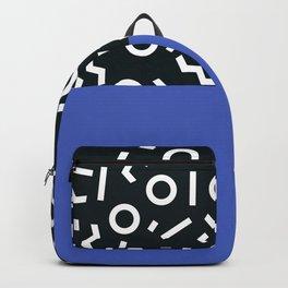 Memphis pattern 49 Backpack