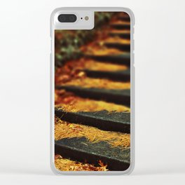 Stairway to heaven Clear iPhone Case
