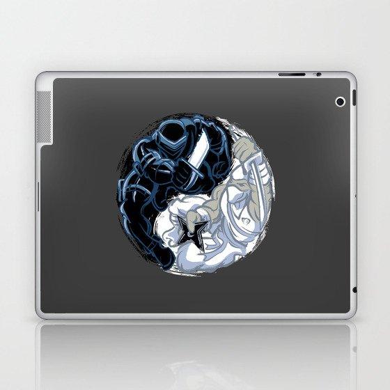 Snake Eyes/Storm Shadow  Laptop & iPad Skin