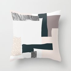 On the wall #2 Throw Pillow