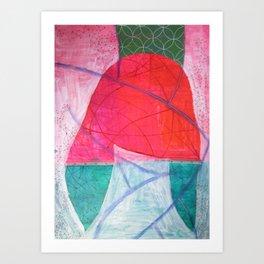 I am what I am Art Print