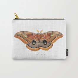 Polyphemus Moth (Antheraea polyphemus) II Carry-All Pouch