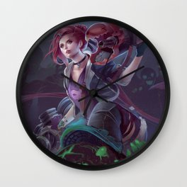 Slayer Jinx Wall Clock